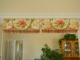 Roman shades & valances 2012
