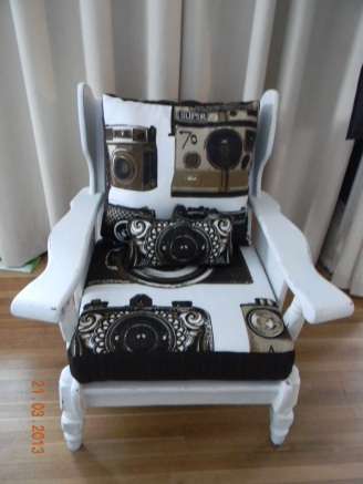Camera Chair at Janet's Home Accents