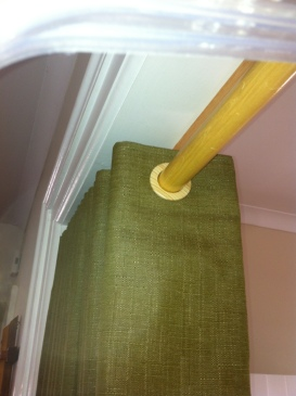 Grommet top panels